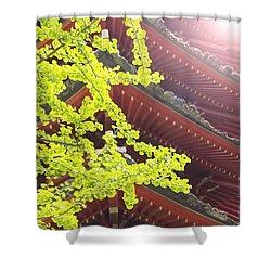 Japanese Tea Garden Shower Curtain