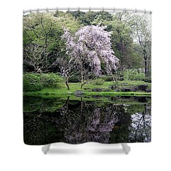 Japan's Imperial Garden Shower Curtain