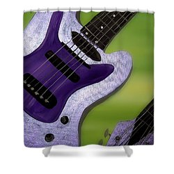 Jazz Shower Curtain by Mark Moore