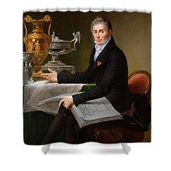 Jean-baptiste-claude Odiot Shower Curtain by Robert Lefevre