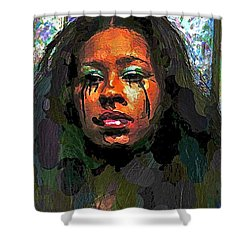 Shower Curtain featuring the photograph Jemai by Alice Gipson
