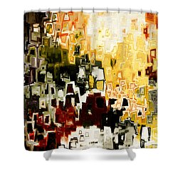 Jesus Christ A Man Of Sorrows Shower Curtain by Mark Lawrence