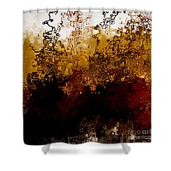 Jesus Christ The Amen Shower Curtain by Mark Lawrence