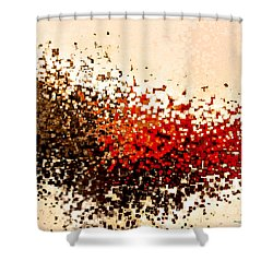 Jesus Christ The Arm Of The Lord Shower Curtain by Mark Lawrence