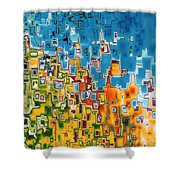 Jesus Christ The Image Of God Shower Curtain by Mark Lawrence
