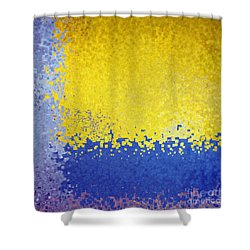 Jesus Christ The Just One Shower Curtain by Mark Lawrence