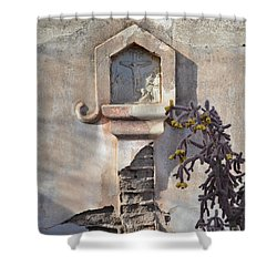 Shower Curtain featuring the photograph Jesus Image by Rebecca Margraf