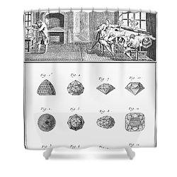 Jewelers Workshop Shower Curtain by Granger