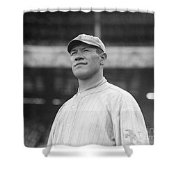 Jim Thorpe (1888-1953) Shower Curtain by Granger