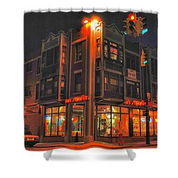 Jim's Steakout Shower Curtain