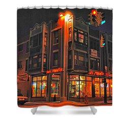 Jim's Steakout Shower Curtain