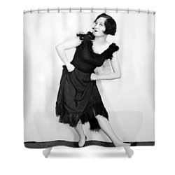 Joan Crawford (1908-1973) Shower Curtain by Granger