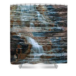 Joffre Gorge - Karijini Np 2am-29568 Shower Curtain by Andrew McInnes