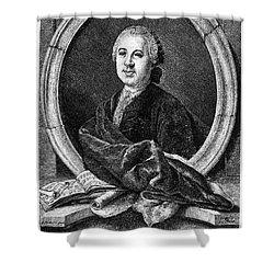 Johann Adolf Hasse Shower Curtain by Granger