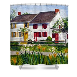 John Abbott House Shower Curtain
