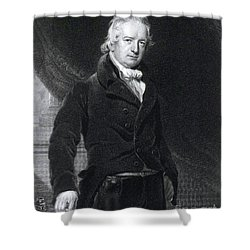 John Abernethy, English Surgeon Shower Curtain by Science Source