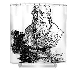 John Amos Comenius Shower Curtain by Granger