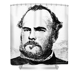 John Chivington (1821-1894) Shower Curtain by Granger