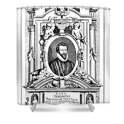 John Donne (1573-1631) Shower Curtain by Granger