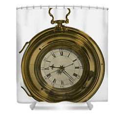 John Harrisons Last Marine Timepiece Shower Curtain by Science Source