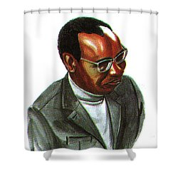 John Mbiti Shower Curtain