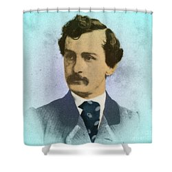 John Wilkes Booth, Assassin Shower Curtain by Photo Researchers
