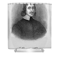 John Winthrop The Younger Shower Curtain by Granger