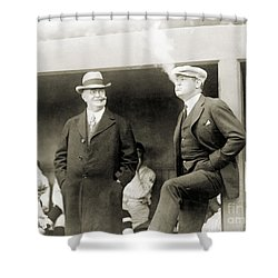 Johnson & Ruth, 1922 Shower Curtain by Granger