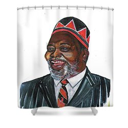 Jomo Kenyatta Shower Curtain