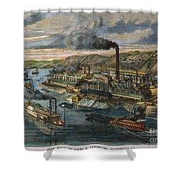 Jones/laughlin Iron Works Shower Curtain by Granger