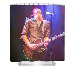 Jonny Lang Shower Curtain by Heidi Smith