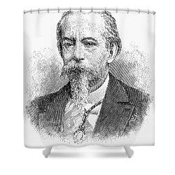 Jos� Zorrilla Y Moral Shower Curtain by Granger