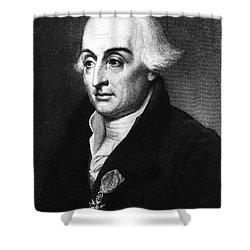 Joseph-louis Lagrange, European Shower Curtain by Science Source