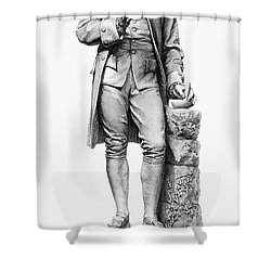 Joseph Priestley (1733-1804) Shower Curtain by Granger