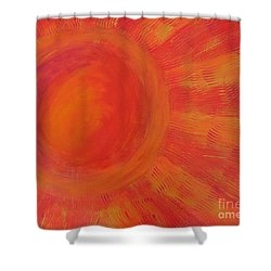 Joy In The Morning Shower Curtain