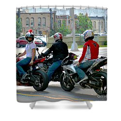Joy Ride Shower Curtain