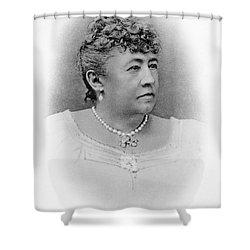 Julia Dent Grant (12826-1902) Shower Curtain by Granger
