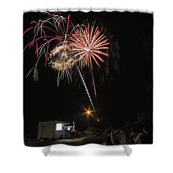 July 4th 2012 Shower Curtain