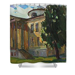 July Day In Russian Estate Shower Curtain