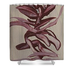 Jungle Pinks Shower Curtain