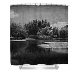 Just A Feeling Shower Curtain by Laurie Search