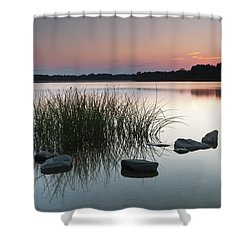 Just Another Sunset Shower Curtain by Edward Kreis