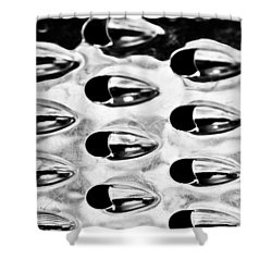 Just Grate Shower Curtain