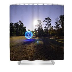 Just Having Fun Shower Curtain by David Morefield