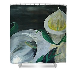 Just Romance  Shower Curtain by Mark Moore