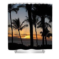 Ka'anapali Sunset Shower Curtain