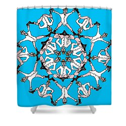 Kaleidoscoot Shower Curtain