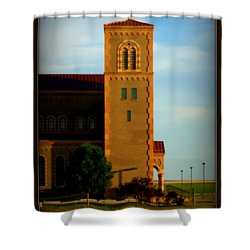 Shower Curtain featuring the photograph Kansas Architecture by Jeanette C Landstrom