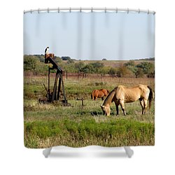 Kansas Tableaux Shower Curtain by Keith Stokes