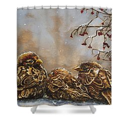 Keeping Company Shower Curtain